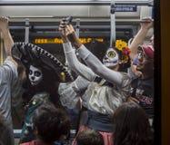 Dia De Los Muertos Selife stock photos