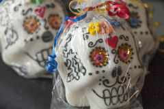 Dia de los muertos. Sugar skulls Royalty Free Stock Photo
