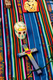 Dia De Los Muertos zmienia Obraz Stock