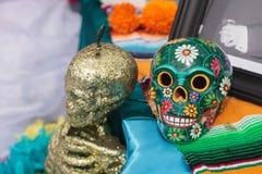 Dia De Los Muertos zmienia Fotografia Stock