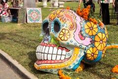 Dia De Los Muertos zmienia Zdjęcie Stock