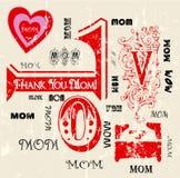 Dia de mães ilustração do vetor