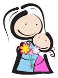Dia de mães Imagens de Stock Royalty Free