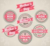 Dia de mães caligráfico dos elementos do projeto ilustração royalty free