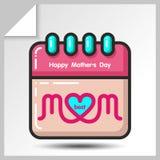 Dia de mães icons_10 Foto de Stock