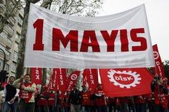 Dia de maio em Istambul Fotos de Stock