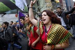 Dia de maio em Istambul Fotografia de Stock Royalty Free