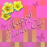 Dia de mães feliz 4 fotografia de stock