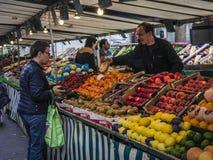 Dia de mercado Fotografia de Stock Royalty Free