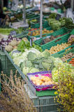 Dia de mercado em Genebra, Suíça Imagens de Stock
