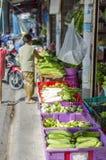Dia de mercado em Koh Phangan, Tailândia Imagens de Stock Royalty Free