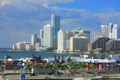 Dia de Miami, Florida Fotografia de Stock Royalty Free
