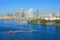 Dia de Miami, Florida Foto de Stock