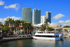 Dia de Miami, Florida Imagens de Stock Royalty Free