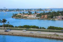 Dia de Miami, Florida Imagem de Stock Royalty Free