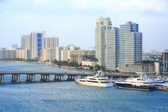Dia de Miami, Florida Fotografia de Stock