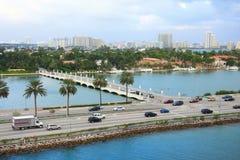 Dia de Miami, Florida Foto de Stock Royalty Free