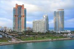 Dia de Miami, Florida Imagens de Stock