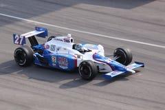 Dia de Mike Conway Indianapolis 500 Pólo Indy 2011 Foto de Stock Royalty Free