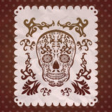 Dia de Muertos - μεξικάνικη ημέρα του θανάτου ισπανικά Στοκ φωτογραφία με δικαίωμα ελεύθερης χρήσης