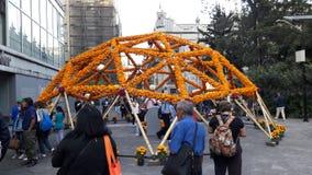 Dia de Muertos dans le ` s de Mexico du centre Photo libre de droits