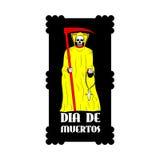 Dia de Muertos - giorno messicano della morte Fotografia Stock Libera da Diritti