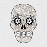 Dia de Muertos-Hintergrund Stockfoto