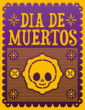 Dia de Muertos - Mexican Day of the death vector illustration