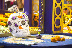 Dia de muertos. Mexinca celebration Royalty Free Stock Photos