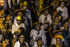 Dia de Muertos Parade royaltyfria foton