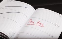 Dia de pagamento Fotografia de Stock