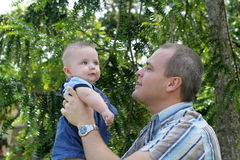 Dia de pai Fotos de Stock