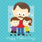 Dia de pai feliz 2 Fotos de Stock Royalty Free