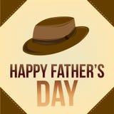 Dia de pai feliz Imagem de Stock