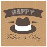 Dia de pai feliz Fotos de Stock Royalty Free