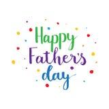 Dia de pai feliz Foto de Stock Royalty Free