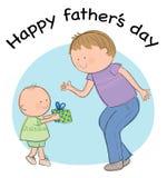 Dia de pais ilustração royalty free