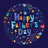 Dia de pais feliz ilustração royalty free