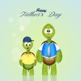 Dia de pais feliz Imagem de Stock Royalty Free