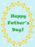 Dia de pais feliz Imagem de Stock