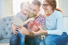 Dia de pais ideal imagens de stock