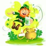 Dia de Patrickâs de Saint Imagem de Stock