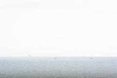 Dia de pesca branco Imagens de Stock Royalty Free