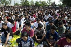 Dia de Phra Wai Khru do estrondo de WAt fotografia de stock
