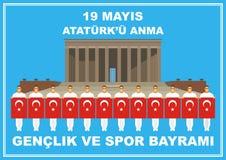 Dia de relembrança de Ataturk Imagem de Stock Royalty Free