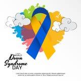 Dia de Síndrome de Down do mundo ilustração royalty free