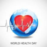 Dia de saúde de mundo Foto de Stock