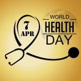Dia de saúde de mundo Foto de Stock Royalty Free