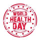 Dia de saúde de mundo Imagens de Stock Royalty Free
