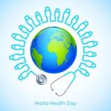Dia de saúde de mundo Imagem de Stock Royalty Free